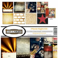 Reminisce - Movie Night Collection - 12 x 12 Collection Kit
