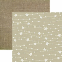 Reminisce - Modern Baby Collection - 12 x 12 Double Sided Paper - Star Struck