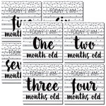 Reminisce - Modern Baby Collection - 12 x 12 Double Sided Paper - First Year