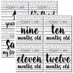 Reminisce - Modern Baby Collection - 12 x 12 Double Sided Paper - First Year Too