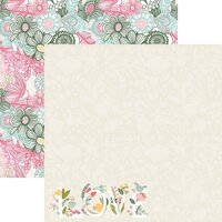 Reminisce - Mom's Life Collection - 12 x 12 Double Sided Paper - Happy Mom