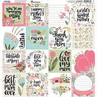 Reminisce - Mom's Life Collection - 12 x 12 Elements Sticker