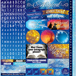 Reminisce - Magical Too Collection - 12 x 12 Cardstock Stickers - Variety
