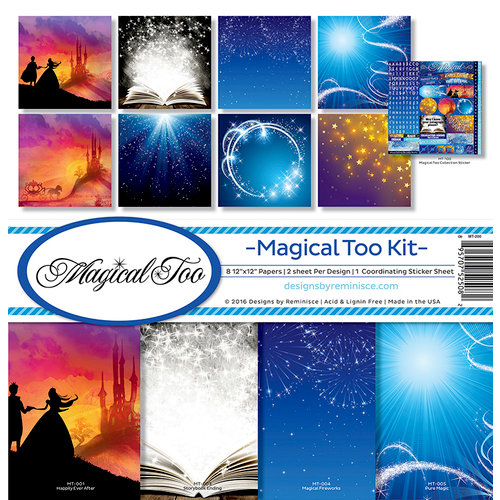 Reminisce - Magical Too Collection - 12 x 12 Collection Kit