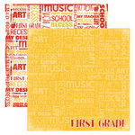 Reminisce - Making the Grade Collection - 12 x 12 Double Sided Paper - First Grade