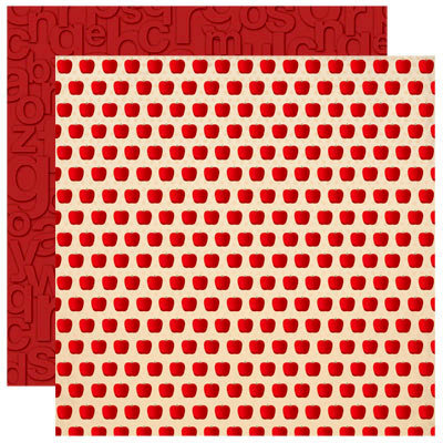 Making the Grade Collection - 12 x 12 Double Sided Paper - Apple ...