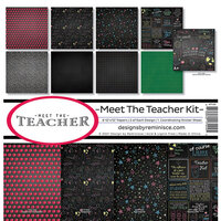 Reminisce - Meet the Teacher Collection - 12 x 12 Collection Kit