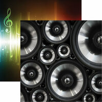 Reminisce - Musicality Collection - 12 x 12 Double Sided Paper - Turn It Up
