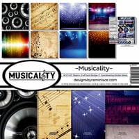 Reminisce - Musicality Collection - Page Kit