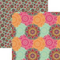 Reminisce - Namaste Collection - 12 x 12 Double Sided Paper - Peace