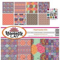 Reminisce - Namaste Collection - 12 x 12 Collection Kit
