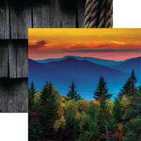 Reminisce - 12 x 12 Double Sided Paper - Kancamagus Pass