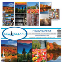 Reminisce - 12 x 12 Collection Kit - New England