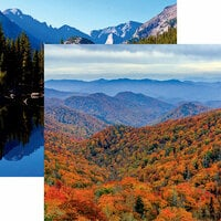 Reminisce - National Parks Collection - 12 x 12 Double Sided Paper - Great Smoky Mountains