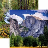 Reminisce - National Parks Collection - 12 x 12 Double Sided Paper - Yosemite