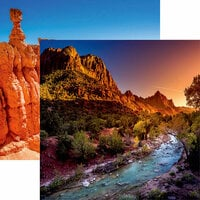 Reminisce - National Parks Collection - 12 x 12 Double Sided Paper - Zion