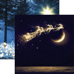 Reminisce - North Pole Express Collection - 12 x 12 Double Sided Paper - Believe
