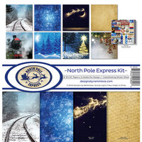 Reminisce - North Pole Express Collection - 12 x 12 Collection Kit