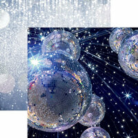 Reminisce - A Night to Remember Collection - 12 x 12 Double Sided Paper - Starry Night