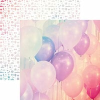 Reminisce - A Night to Remember Collection - 12 x 12 Double Sided Paper - Up and Away