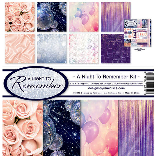 A Night to Remember - Scrapbook Collection Kit