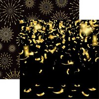 Reminisce - New Years 2020 Collection - 12 x 12 Double Sided Paper - Confetti