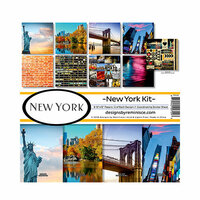 Reminisce - New York Collection - 12 x 12 Collection Kit