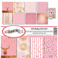 Reminisce - Oh Baby Girl Collection - 12 x 12 Collection Kit