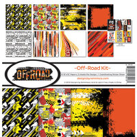 Reminisce - Off-Road Collection - 12 x 12 Collection Kit