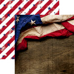 Reminisce - Old Glory Collection - 12 x 12 Double Sided Paper - Old Glory