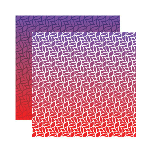 Reminisce - Ombre Collection - 12 x 12 Double Sided Paper - Desert Glow