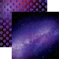 Reminisce - Out of this World Collection - 12 x 12 Double Sided Paper - Aliens