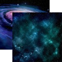 Reminisce - Out of this World Collection - 12 x 12 Double Sided Paper - Galaxy