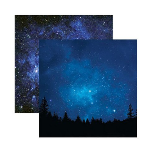Reminisce outer space under the stars paper for Outer space paper