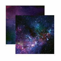 Reminisce - Outer Space Collection - 12 x 12 Double Sided Paper - Out of This World