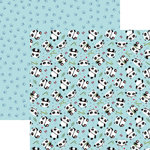 Reminisce - Panda-monium Collection - 12 x 12 Double Sided Paper - Playful Panda