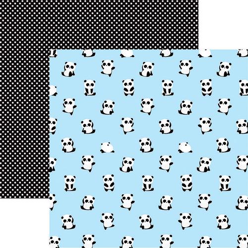 Reminisce - Panda-monium Collection - 12 x 12 Double Sided Paper - Pandalandia
