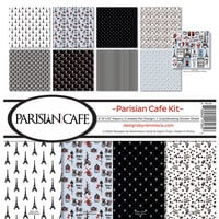 Reminisce - Parisian Cafe Collection - 12 x 12 Collection Kit