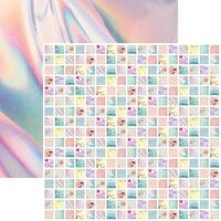 Reminisce - Picture Perfect Collection - 12 x 12 Double Sided Paper - Story Collage