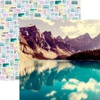 Reminisce - Picture Perfect Collection - 12 x 12 Double Sided Paper - Breathtaking