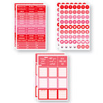 Reminisce - Planit Now Collection - Cardstock Stickers - February
