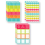 Reminisce - Planit Now Collection - Cardstock Stickers - June