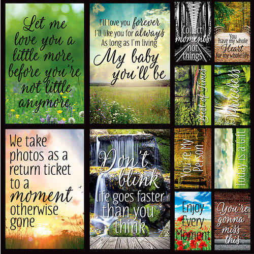 Reminisce - Photo Shoot Collection - 12 x 12 Cardstock Stickers - Poster