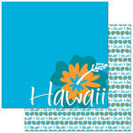Reminisce - Passports Collection - 12 x 12 Double Sided Paper - Hawaii