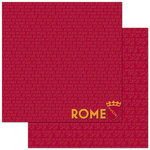 Reminisce - Passports Collection - 12 x 12 Double Sided Paper - Rome