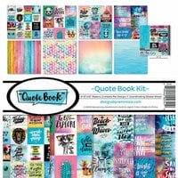 Reminisce - Quote Book Collection - 12 x 12 Collection Kit