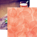Reminisce - Rose All Day Collection - 12 x 12 Double Sided Paper - Rose All Day