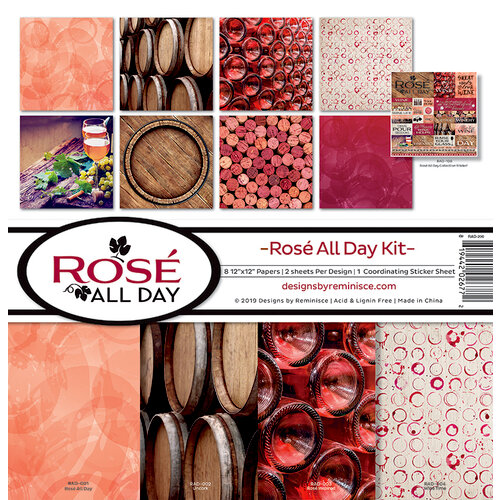Reminisce - Rose All Day Collection - 12 x 12 Collection Kit