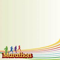 Reminisce - 12 x 12 Paper - Marathon 1