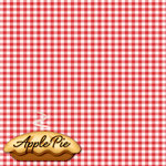Reminisce - 12 x 12 Paper - Red White Gingham
